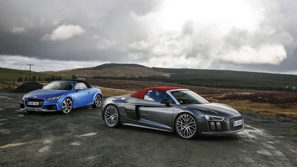 TT RS vs R8 V10