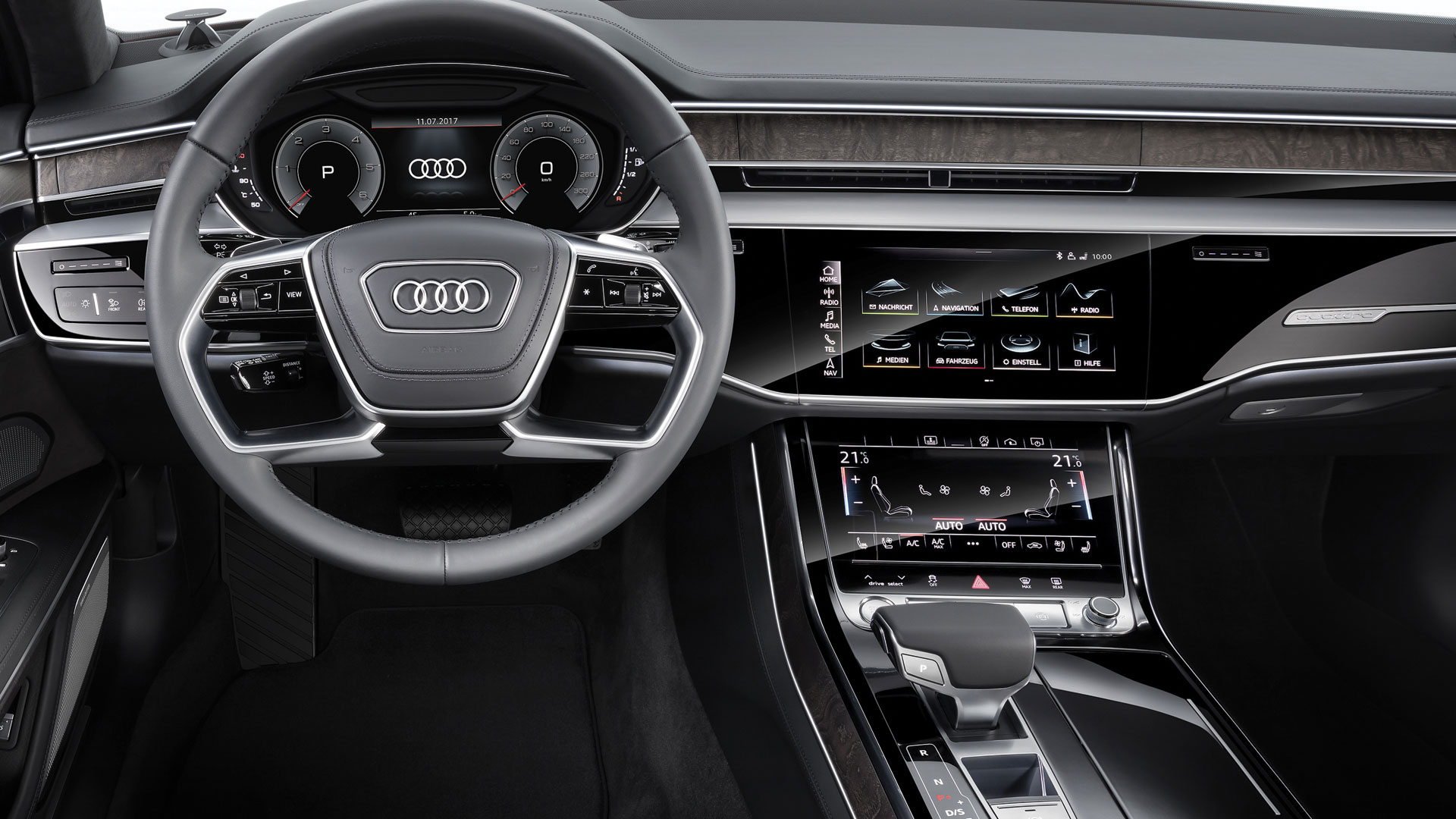 Audi A8 tableau bord