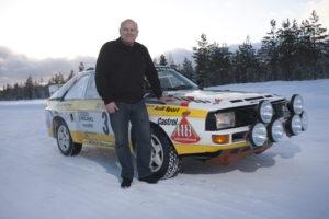 Stig Blomqvist en S1 quattro