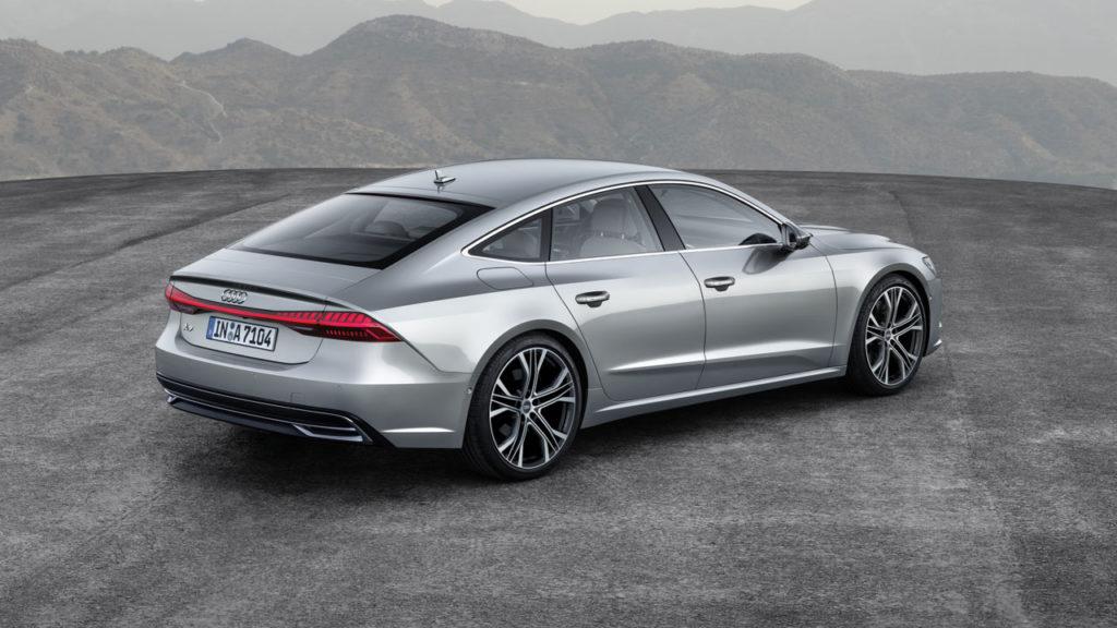 Audi a7 2018 Back