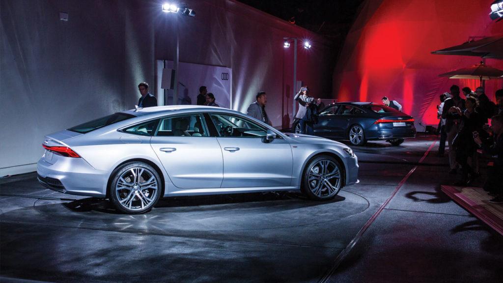 Audi a7 2018 Salon