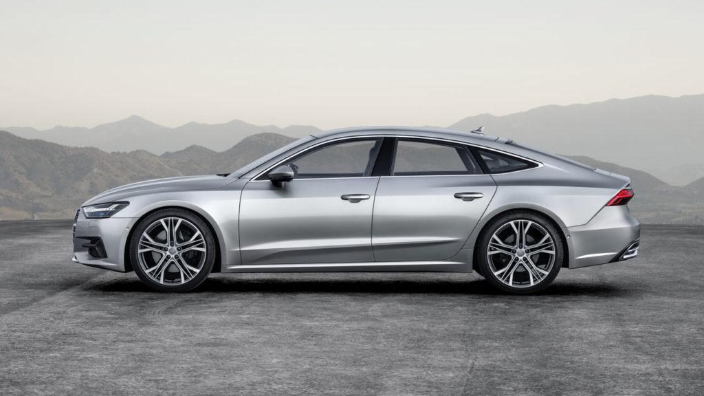 Audi a7 2018 Side