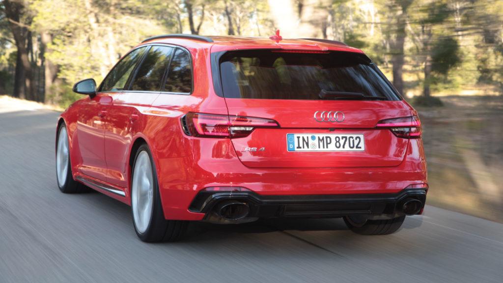 Audi rs4 2018 back