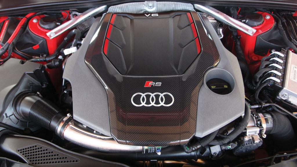 Audi rs4 2018 moteur