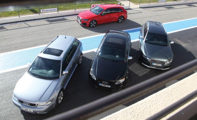 Audi rs4 comparatif