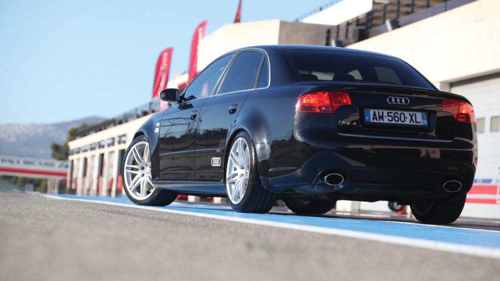 Audi rs4 mk2 back