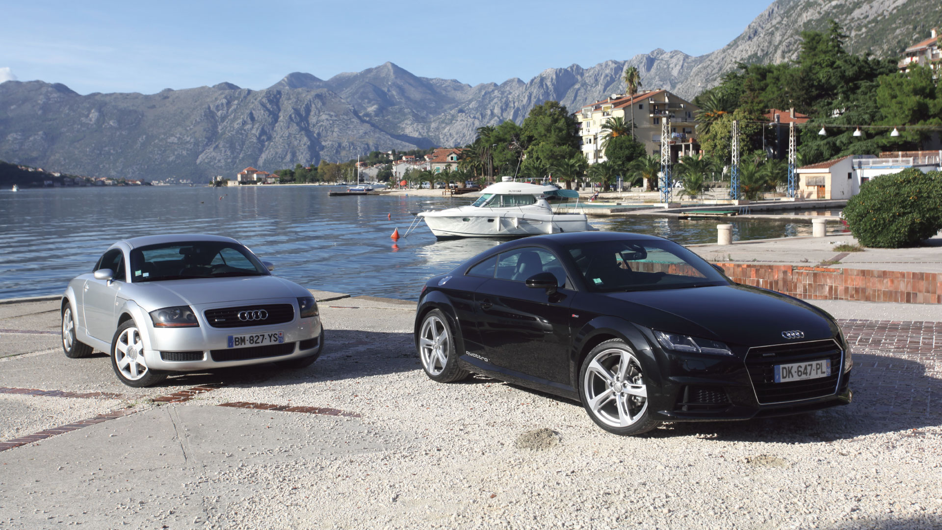 TT coupé quattro Mk1 vs TT coupé quattro Mk3