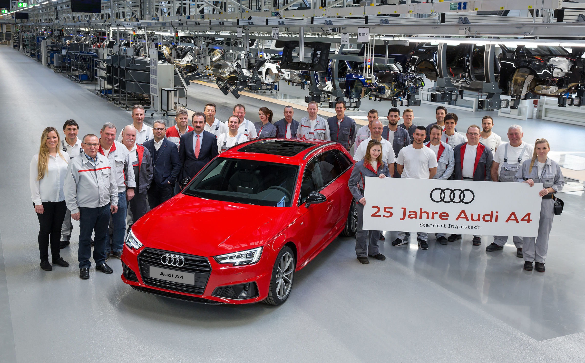 Audi A4 - 25 ans