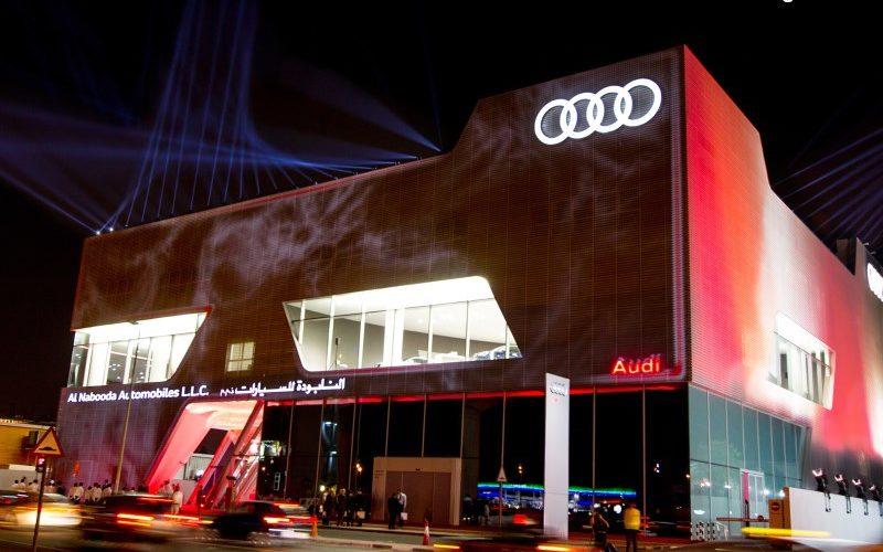 Terminal Audi Dubaï