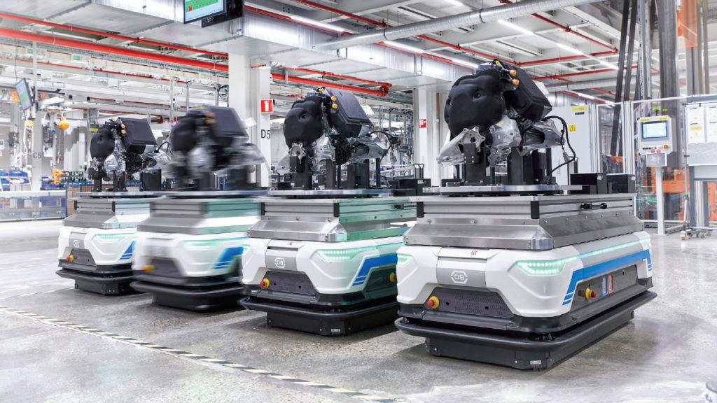 chariots autonomes