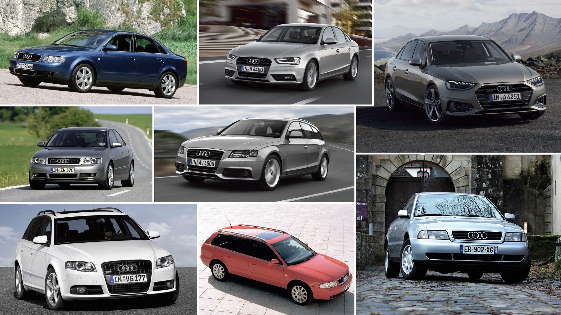 25 ans d'Audi A4