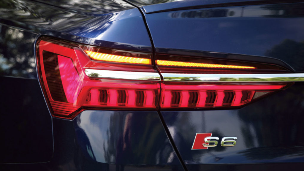 Phare arrière du S6 Berline