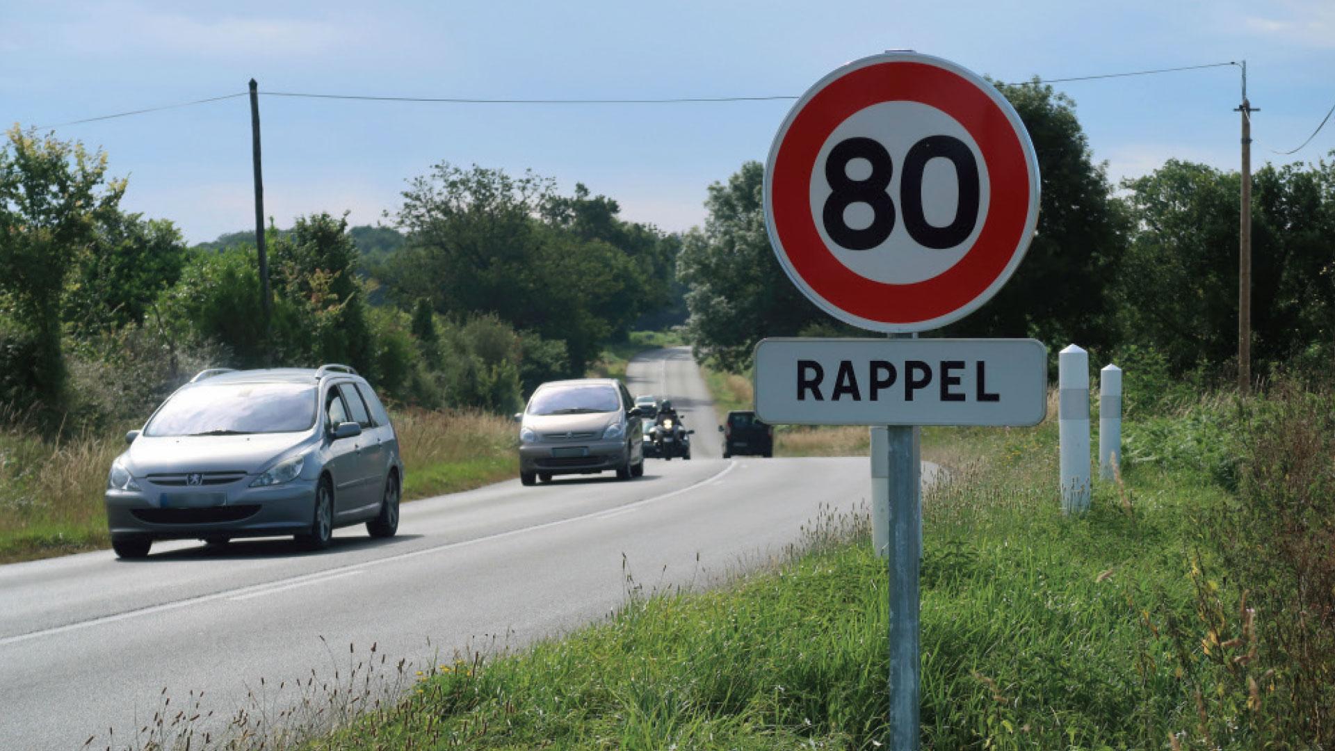 Bilan 80km/h