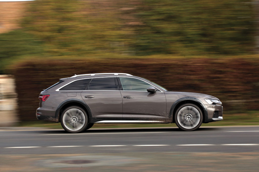 Audi A6 Allroad profil