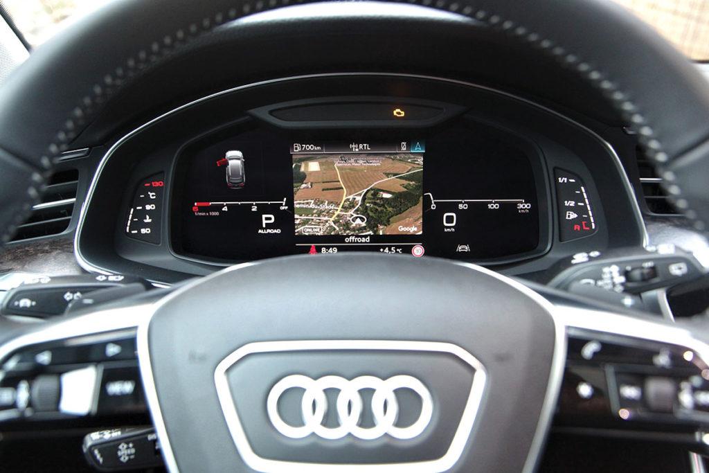 Audi A6 Allroad volant
