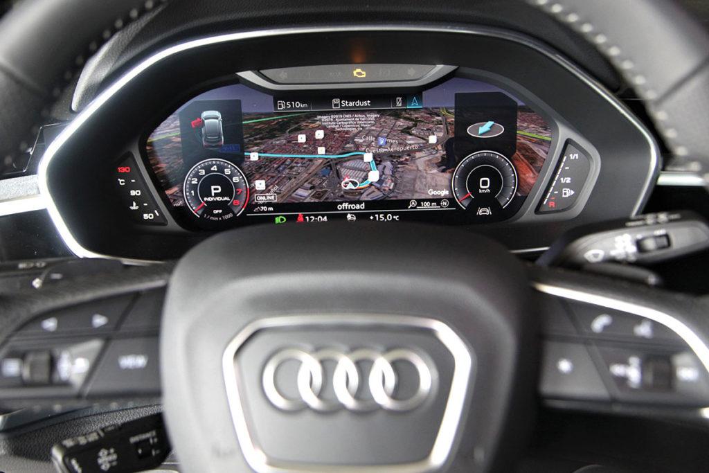 Audi Q3 Sportback 45 TFSI volant