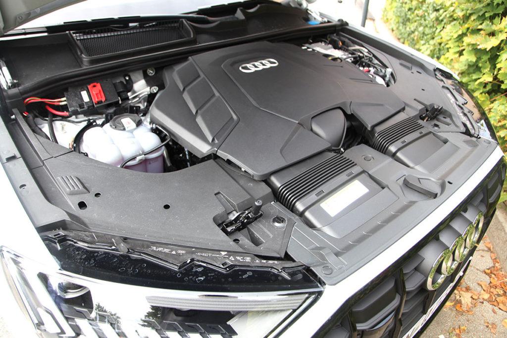 Audi Q7 60 TFSIe moteur