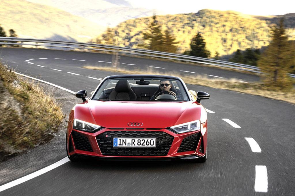 Audi R8 RWD face avant