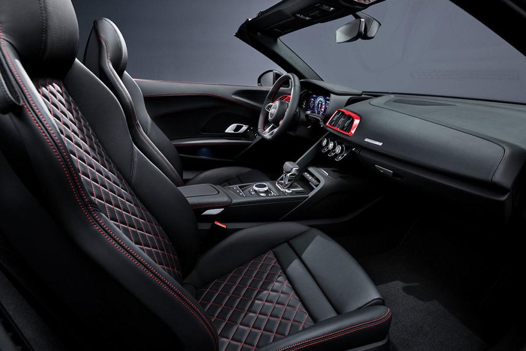 Audi R8 RWD siege cuir