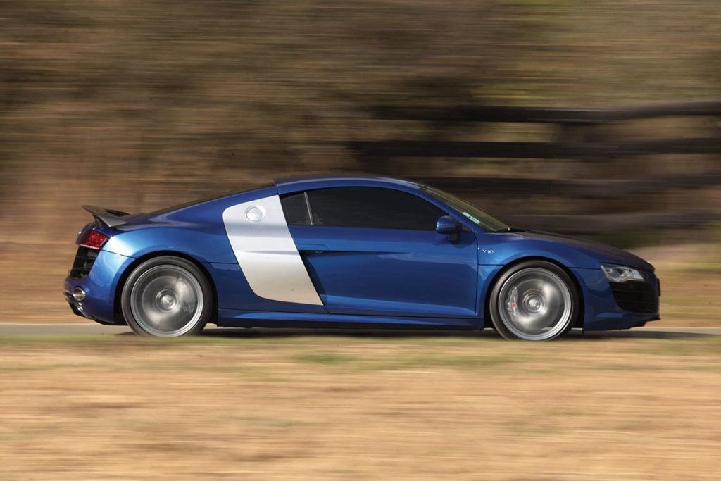 Audi R8 profil