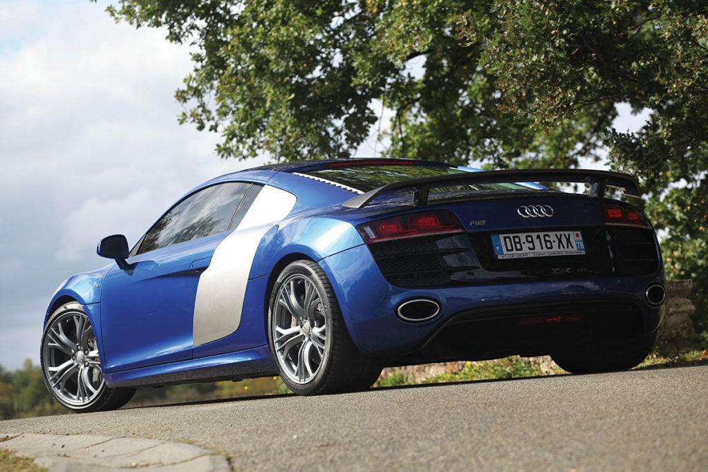 Audi R8 Arriere