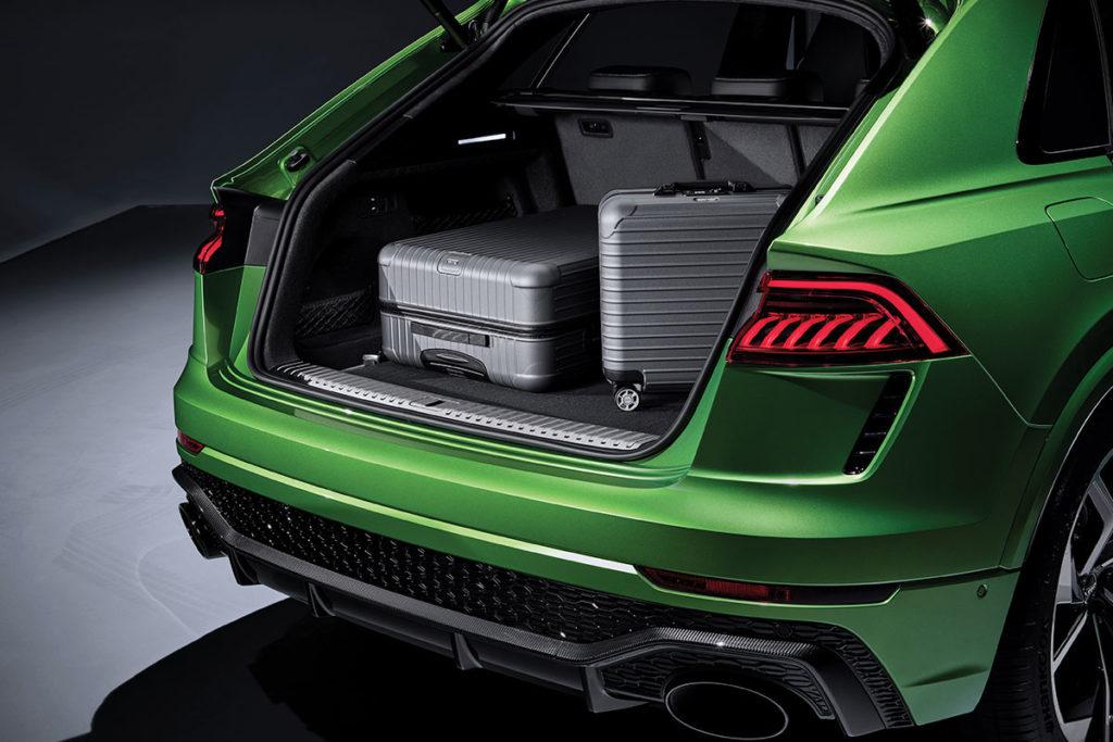 Audi RS Q8 coffre