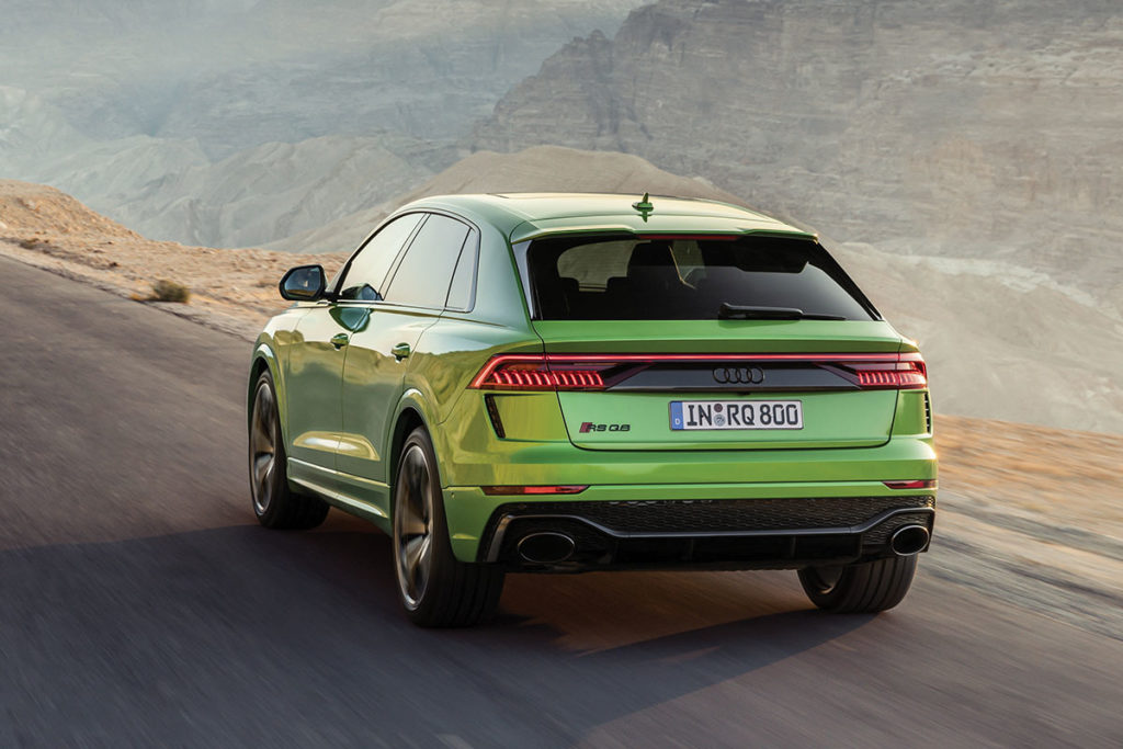 Audi RS Q8 face arrière