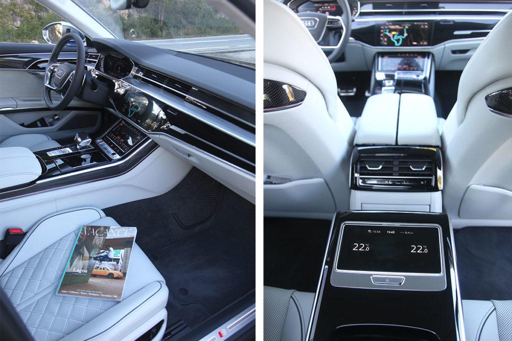 Audi S8 interieur