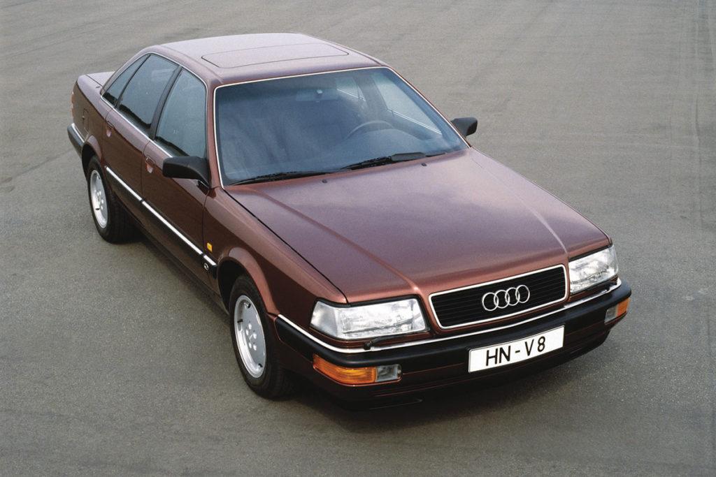 Audi V8, 1988