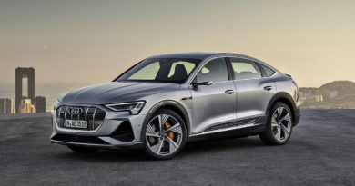 Audi e-tron Sportback face avant