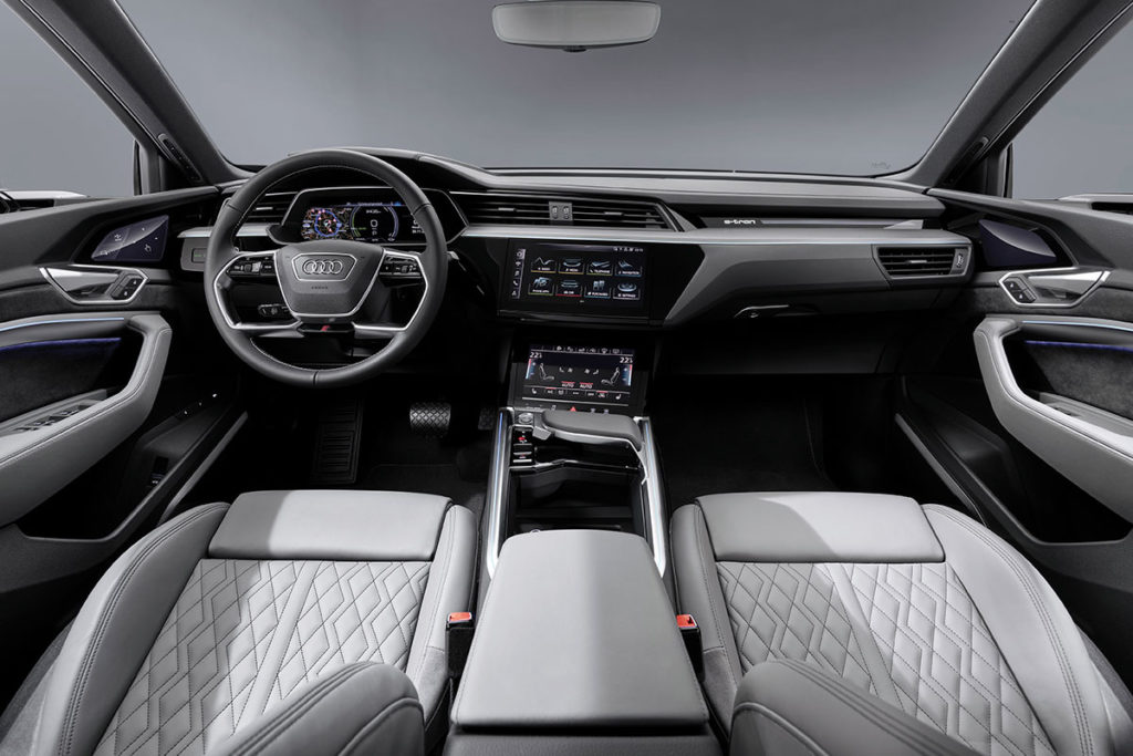 Intérieur e-tron sportback