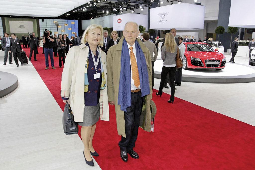 Dr Piech et sa femme