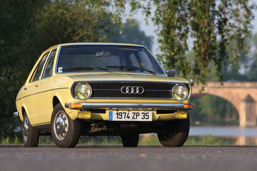 Audi 80, 1972