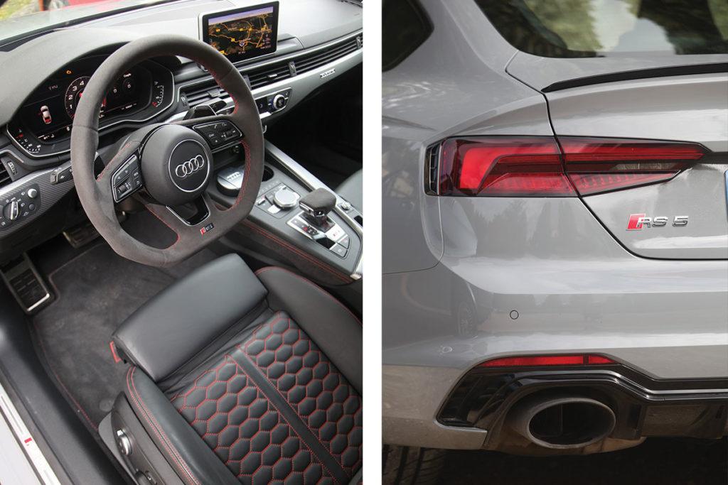 Interieur et exterieur RS5 Sportback