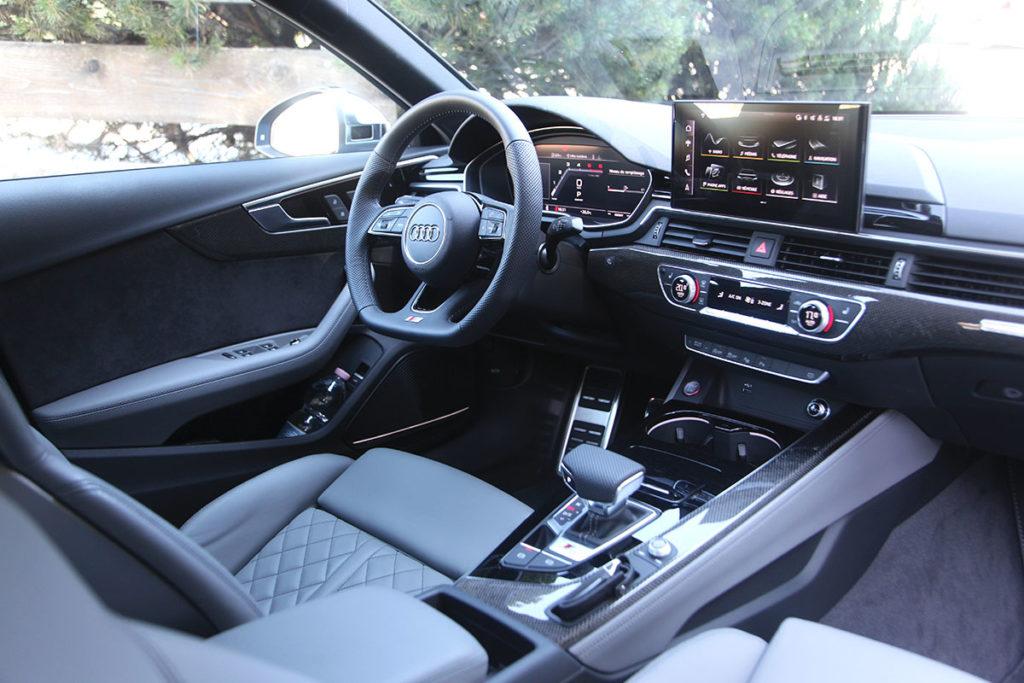 Audi S4 interieur siège