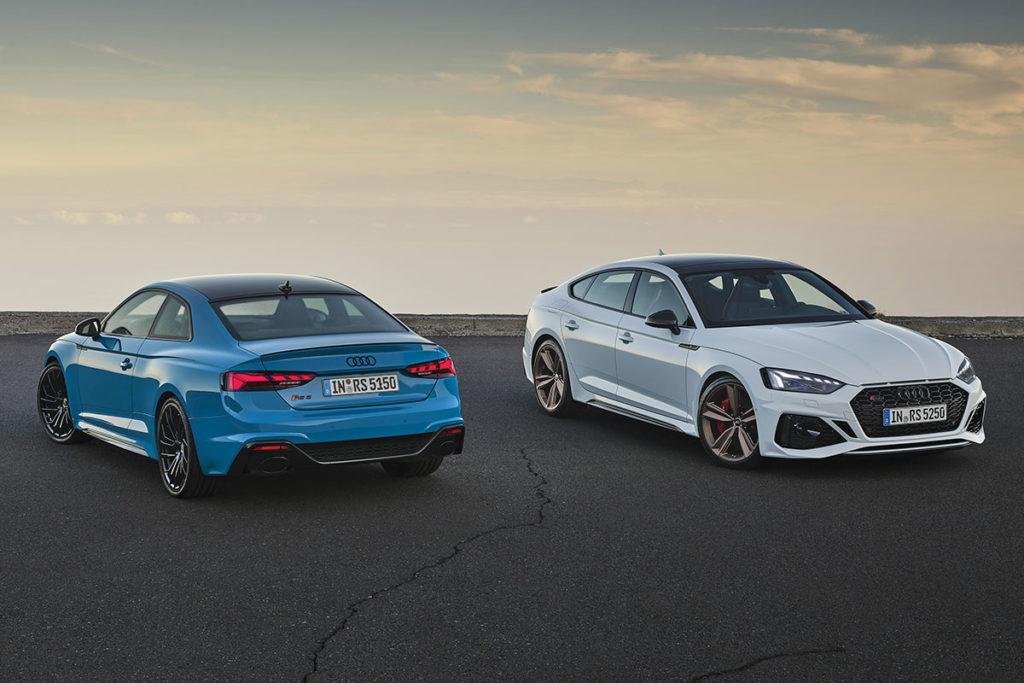 Audi-RS5 deux couleurs