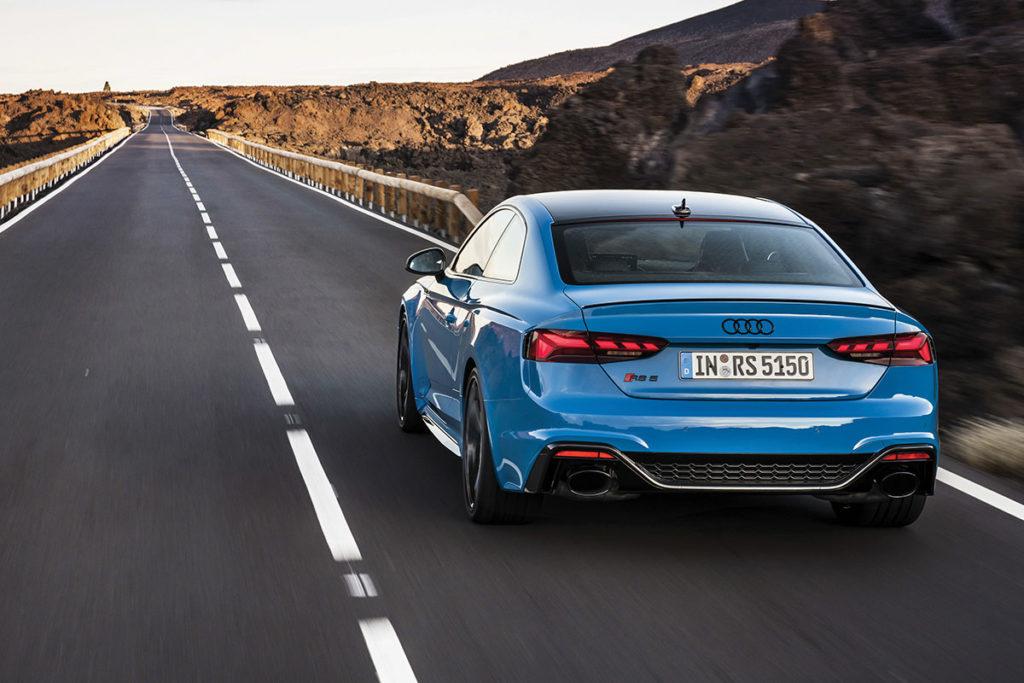Audi-RS5 face arrière