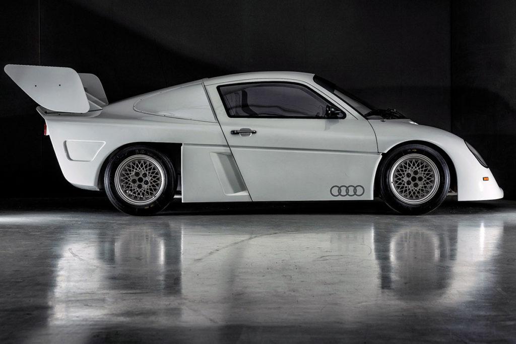 Profil Audi moteur central AR