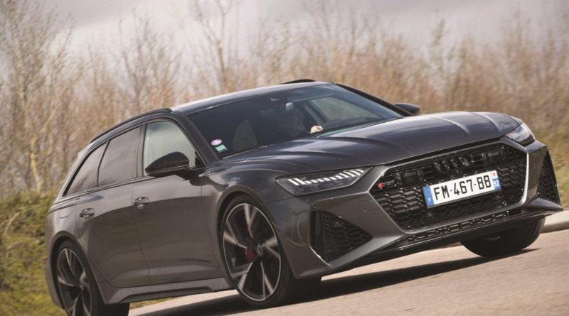Audi RS6, Le break bipolaire