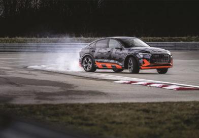 Audi e-tron Sportback S, Survolté !