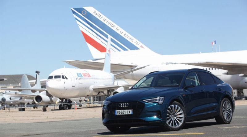 Audi e-tron quattro Sportback, Le plumage, pas le ramage
