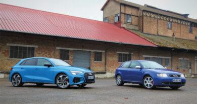 D'hier à aujourd'hui : Audi S3 « Mk1 » 2002 vs Audi S3 « Mk4 » 2021