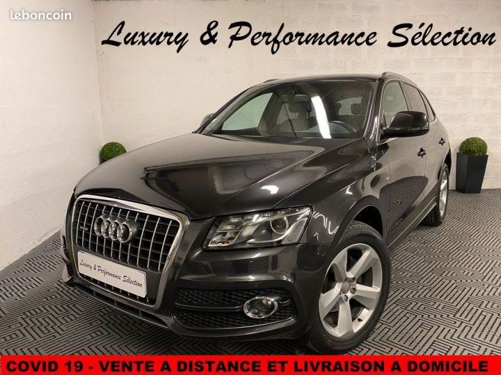 Audi Q5 20 TDI 170 S-LINE + PACK EXT 98000km ETAT NEUF NB OPTIONS - 1