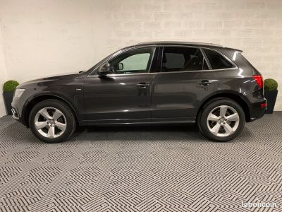 Audi Q5 20 TDI 170 S-LINE + PACK EXT 98000km ETAT NEUF NB OPTIONS   - 2